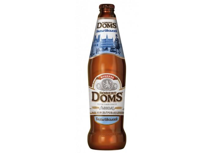 """Пиво Robert Doms """"Бельгійський"""" 0.5л"""