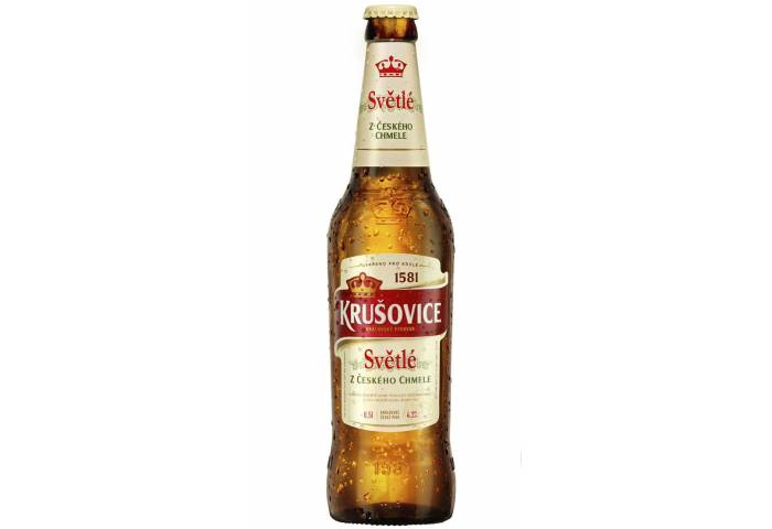Пиво Krusovice 0.5л