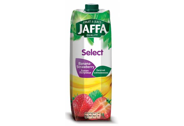 Нектар Jaffa Банан-Полуниця 1.0л