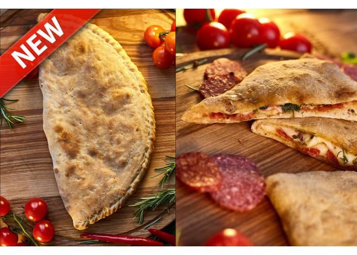 Піца Кальцоне Пепероні (гостра)