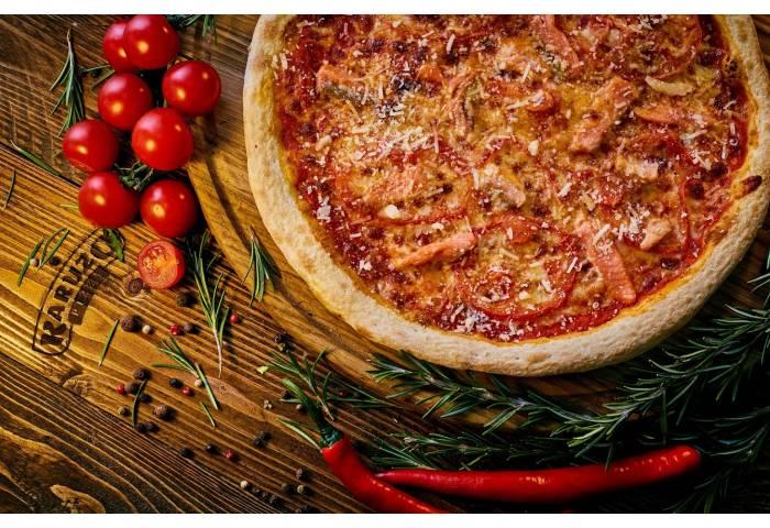 Піца Сальмон